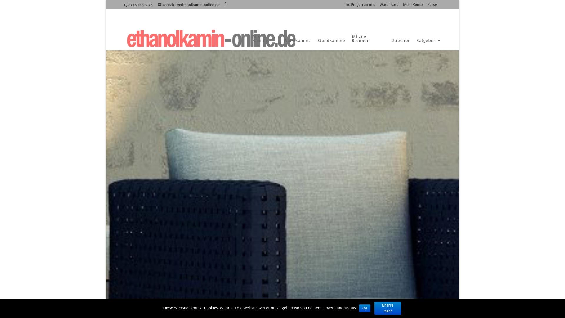Gutschein für Ethanolkamin-online: Rabatte für  Ethanolkamin-online sichern