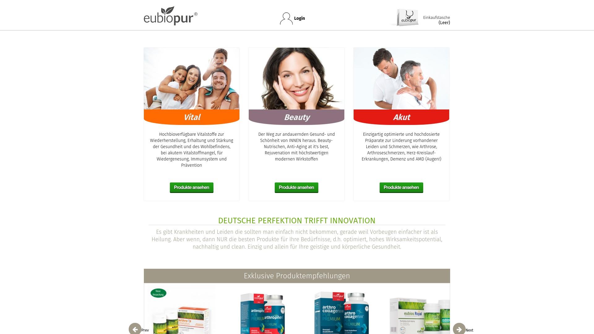 Gutschein für Eubiopur: Rabatte für  Eubiopur sichern