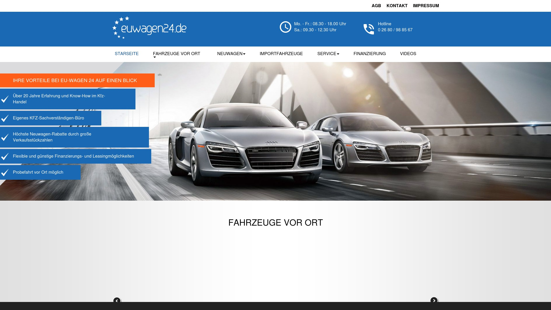 Gutschein für Euwagen24: Rabatte für  Euwagen24 sichern