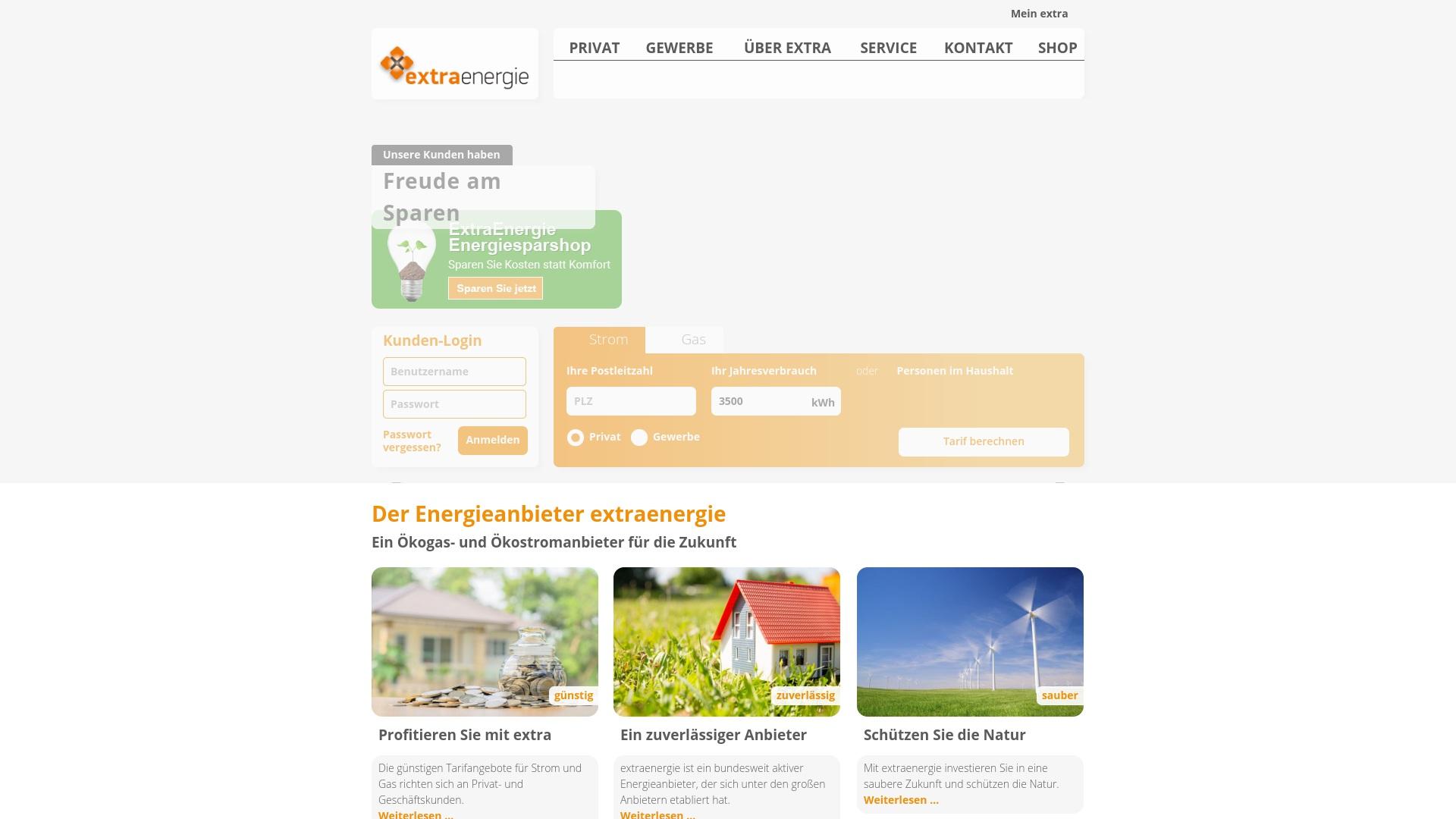 Gutschein für Extraenergie: Rabatte für  Extraenergie sichern