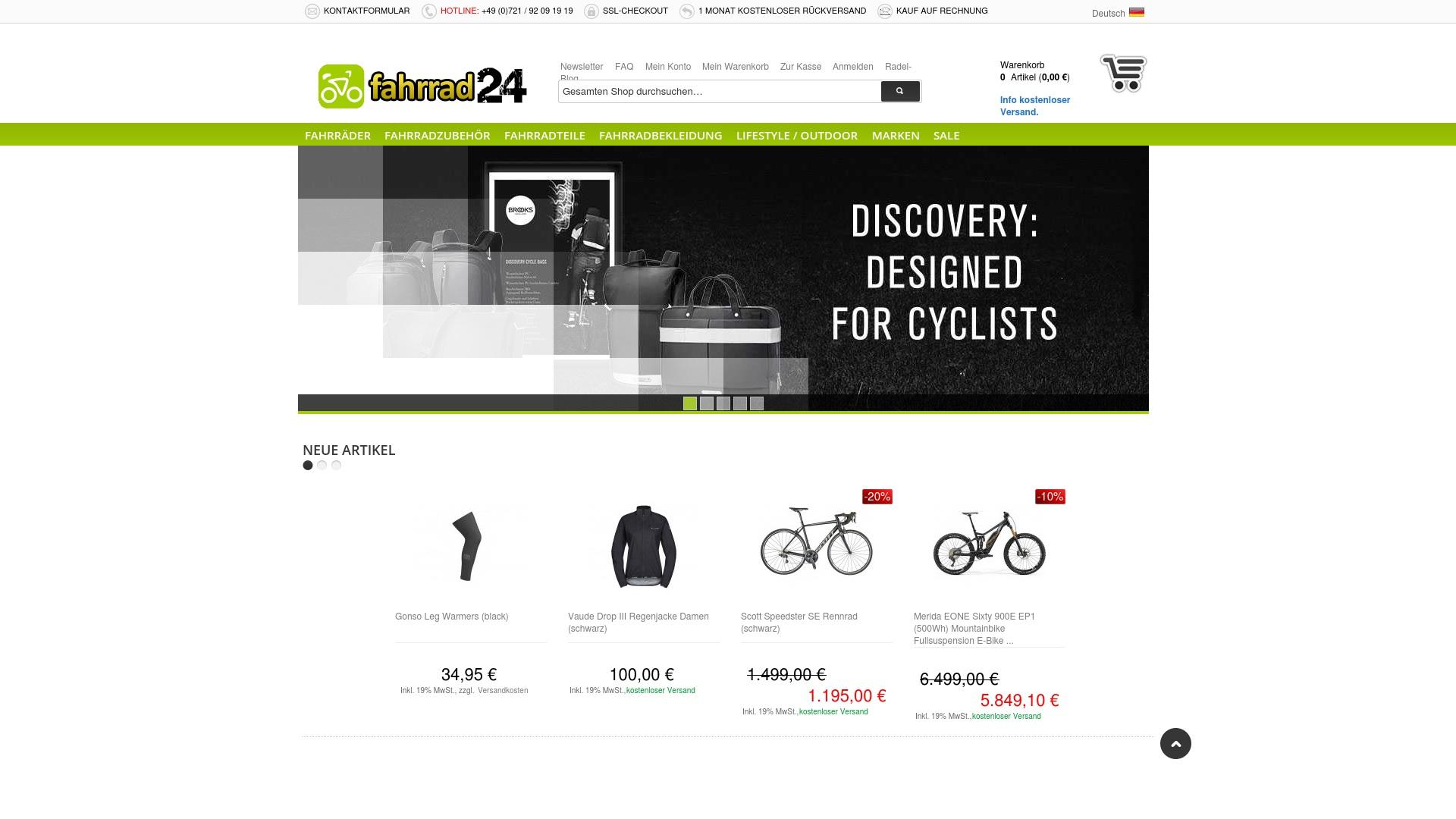 Gutschein für Fahrrad24: Rabatte für  Fahrrad24 sichern