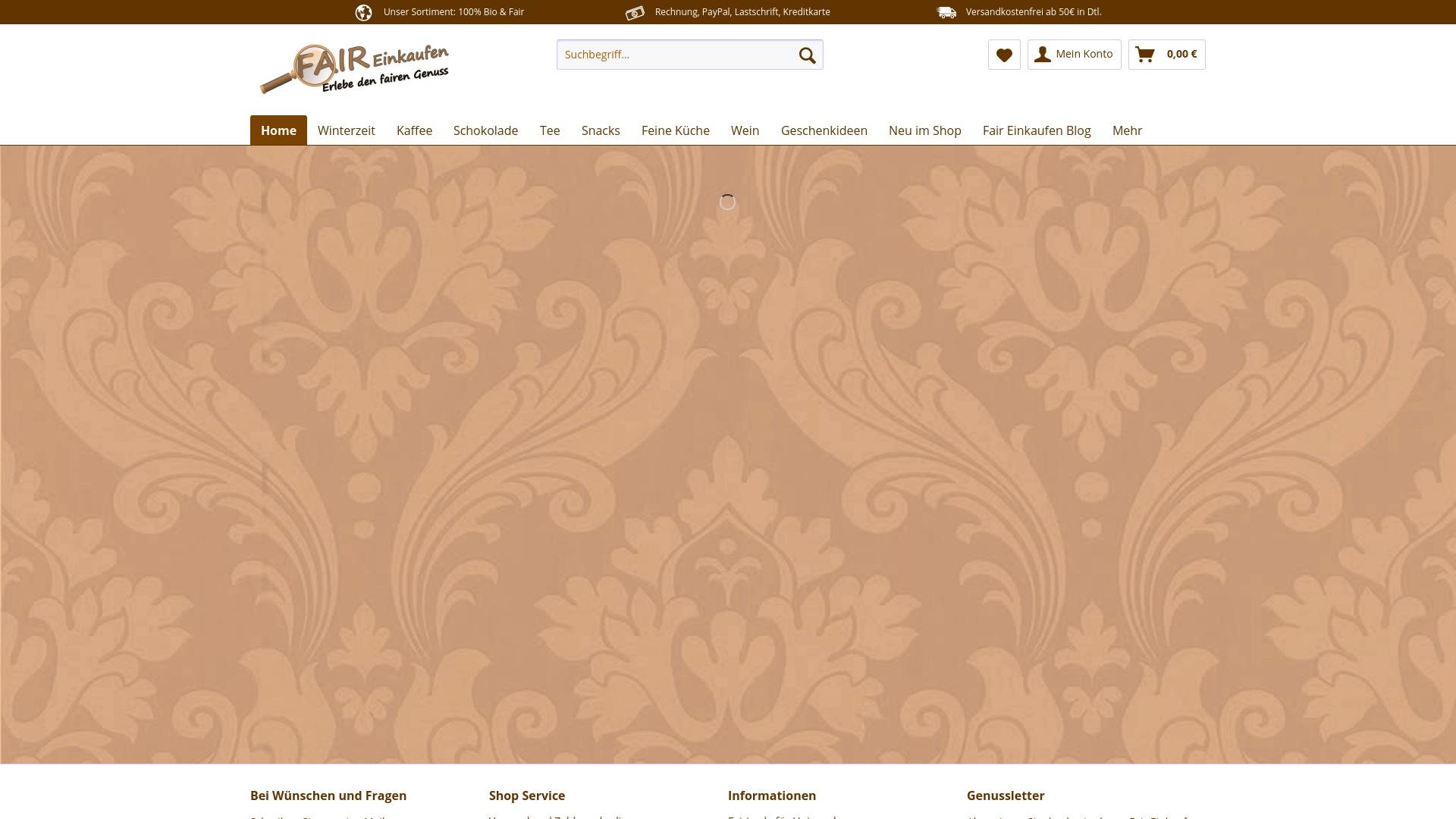 Gutschein für Fair-einkaufen: Rabatte für  Fair-einkaufen sichern