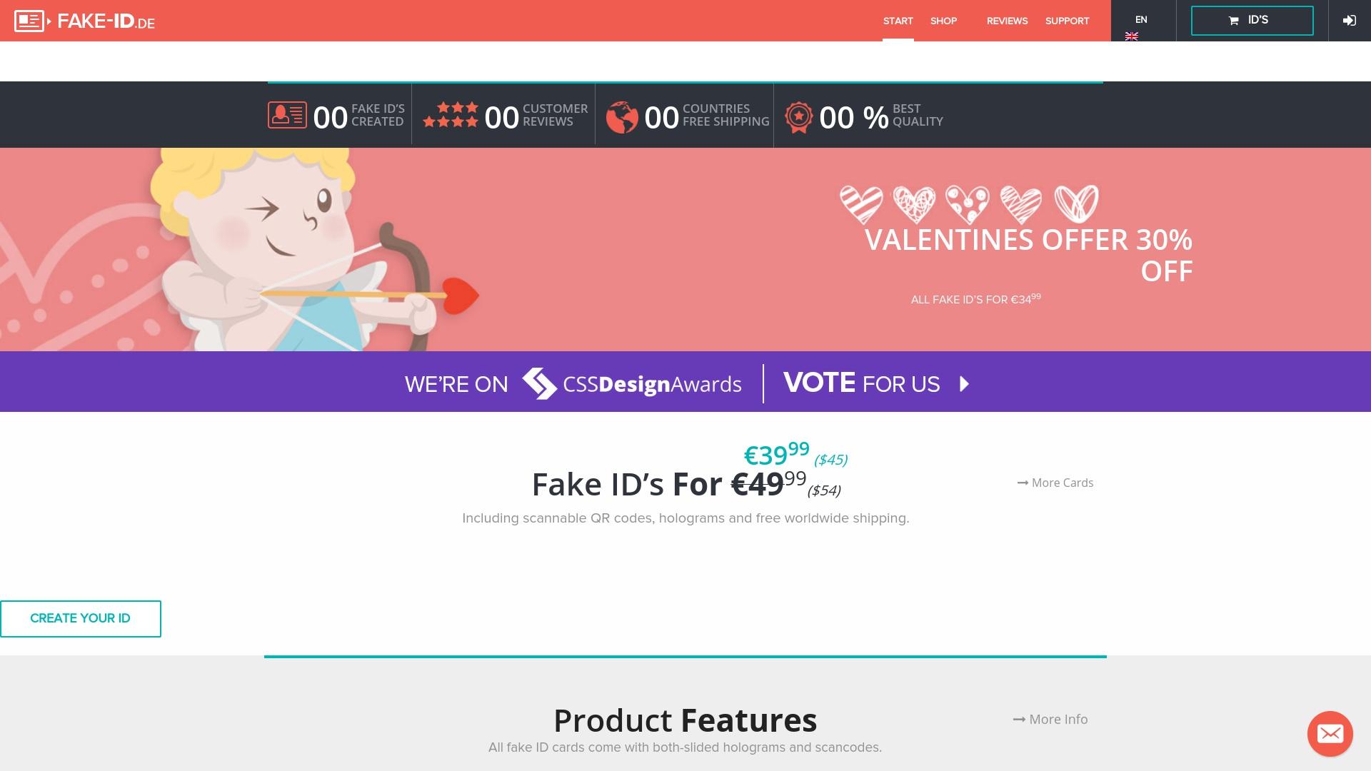 Gutschein für Fake-id: Rabatte für  Fake-id sichern