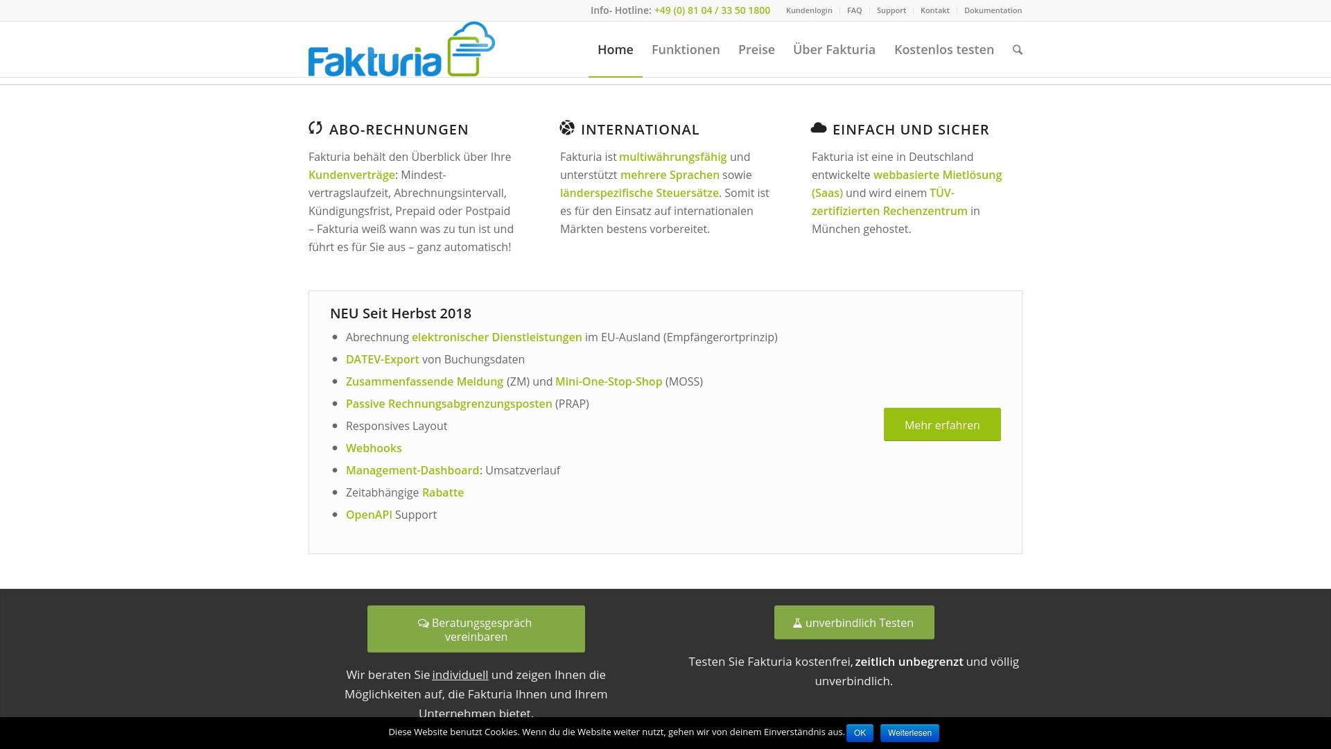 Gutschein für Fakturia: Rabatte für  Fakturia sichern