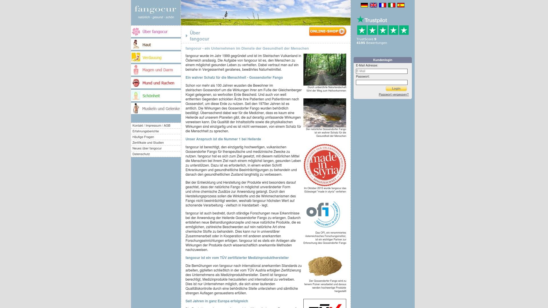 Gutschein für Fangocur: Rabatte für  Fangocur sichern