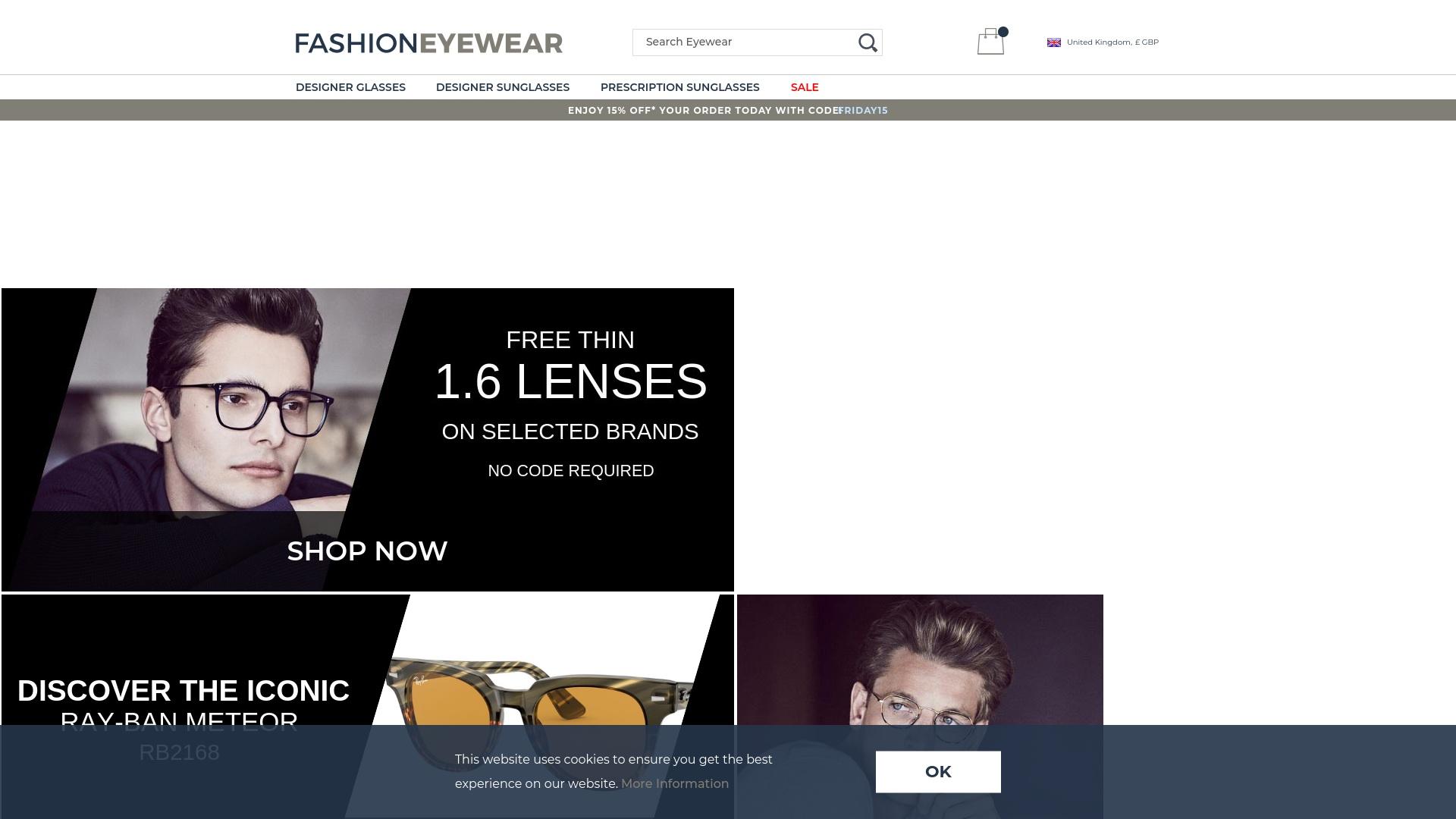 Gutschein für Fashioneyewear: Rabatte für  Fashioneyewear sichern