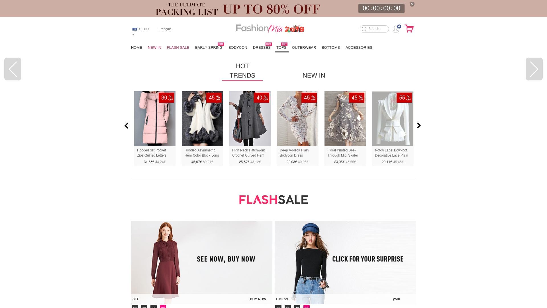 Gutschein für Fashionmia: Rabatte für  Fashionmia sichern