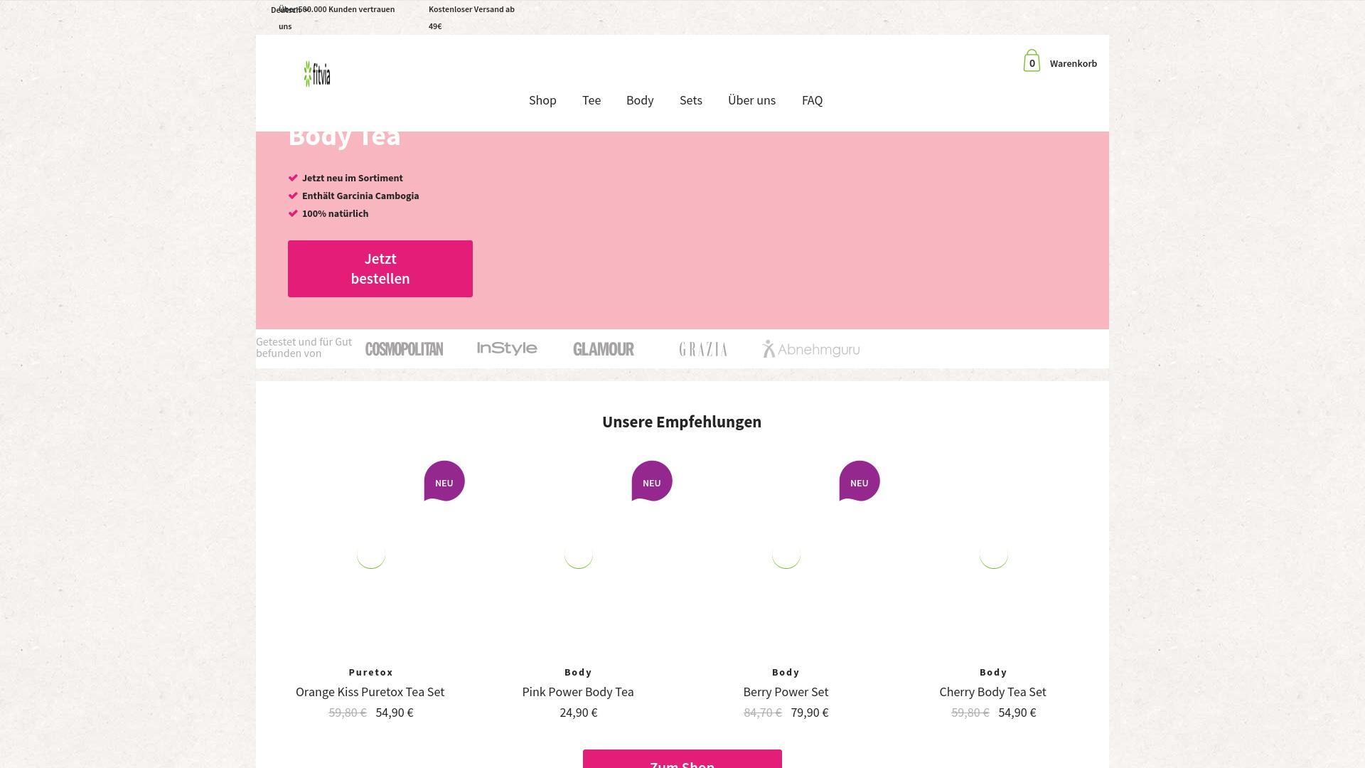 Gutschein für Fitvia: Rabatte für  Fitvia sichern