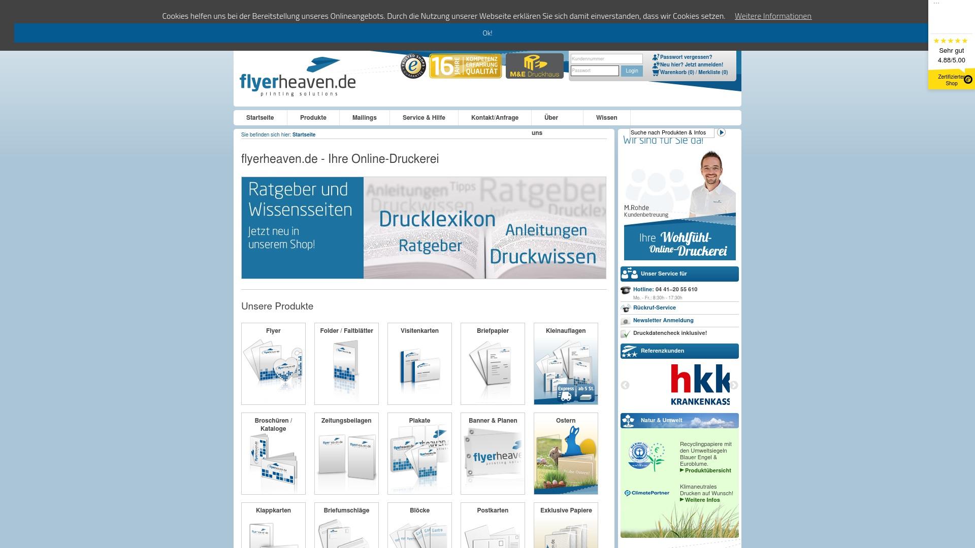 Gutschein für Flyerheaven: Rabatte für  Flyerheaven sichern