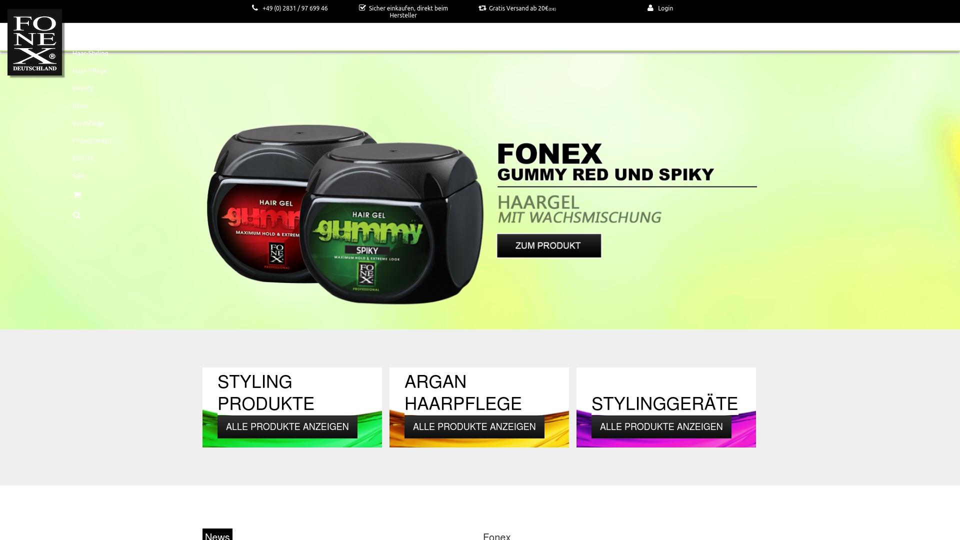Gutschein für Fonexshop: Rabatte für  Fonexshop sichern