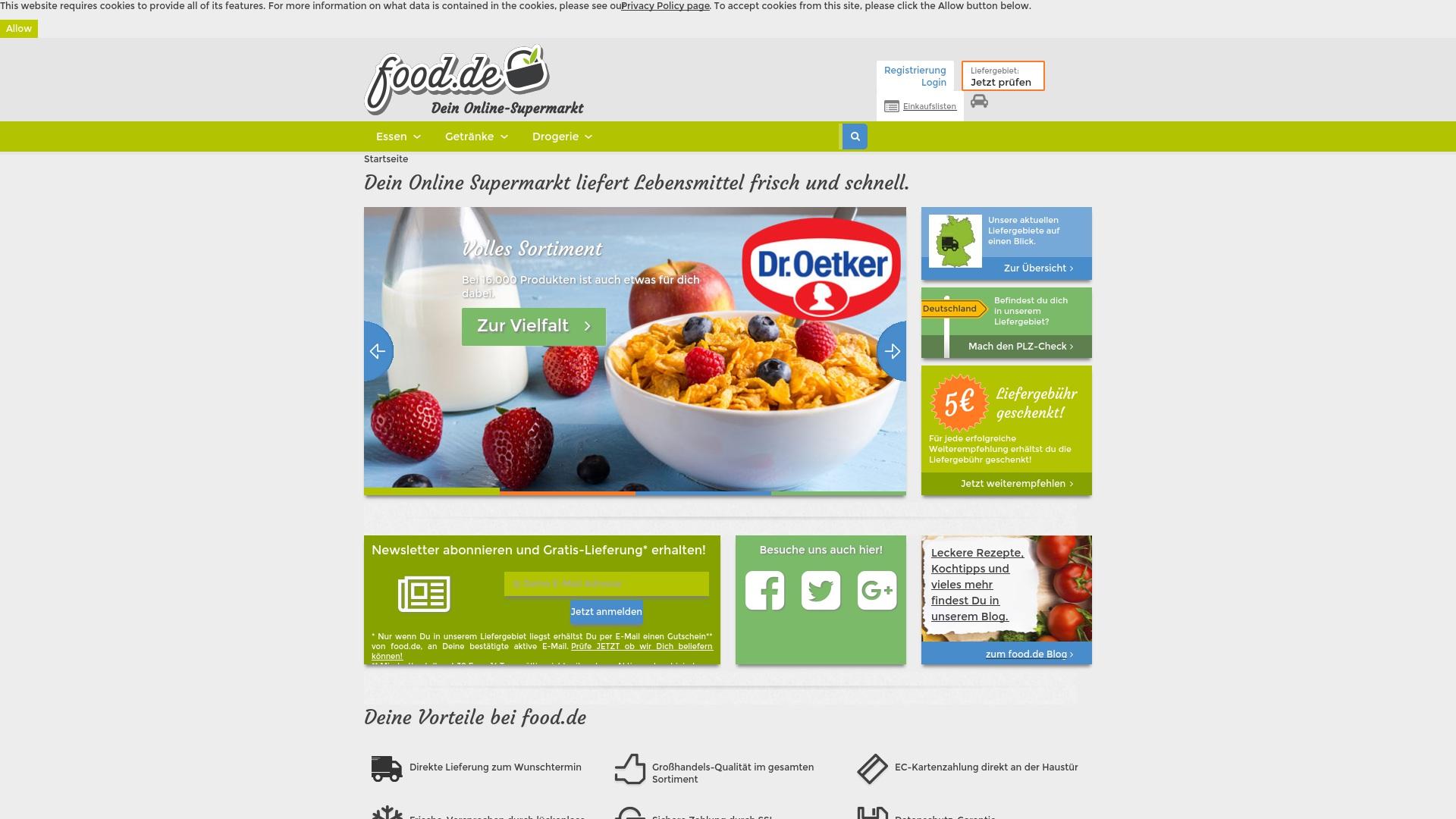 Gutschein für Food: Rabatte für  Food sichern