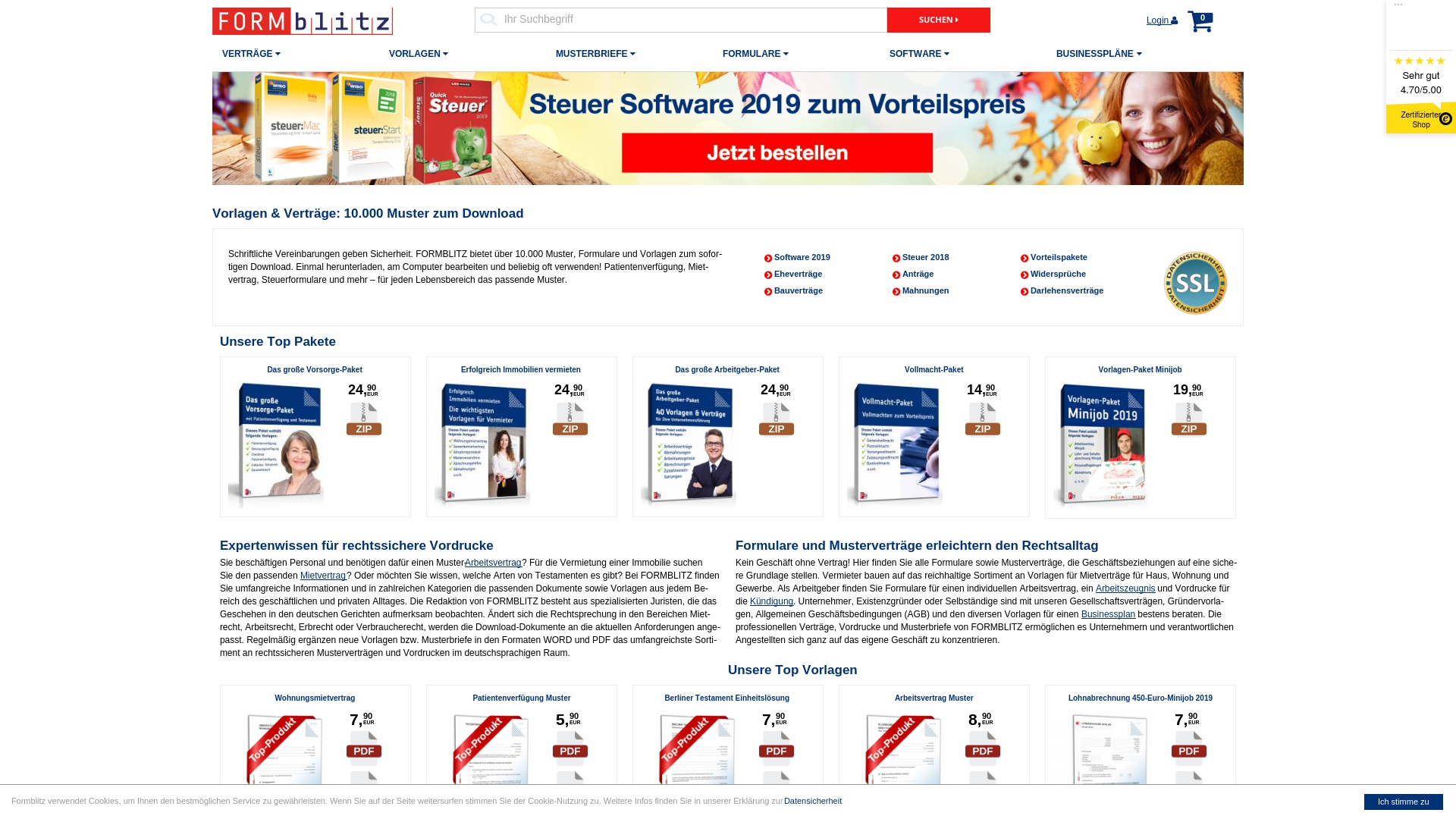 Gutschein für Formblitz: Rabatte für  Formblitz sichern