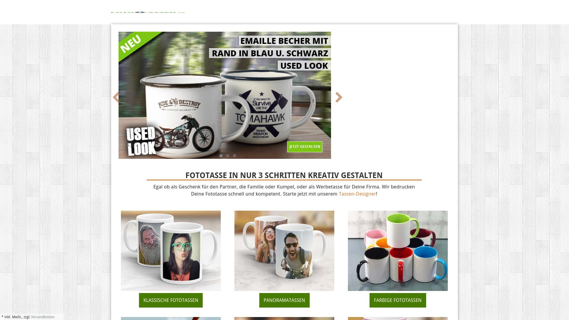 Gutschein für Fototassen: Rabatte für  Fototassen sichern