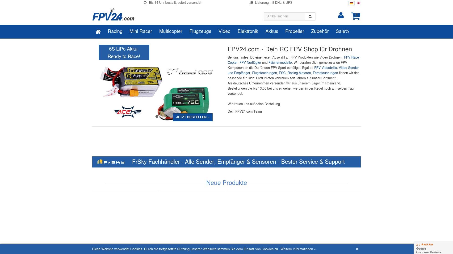 Gutschein für Fpv24: Rabatte für  Fpv24 sichern