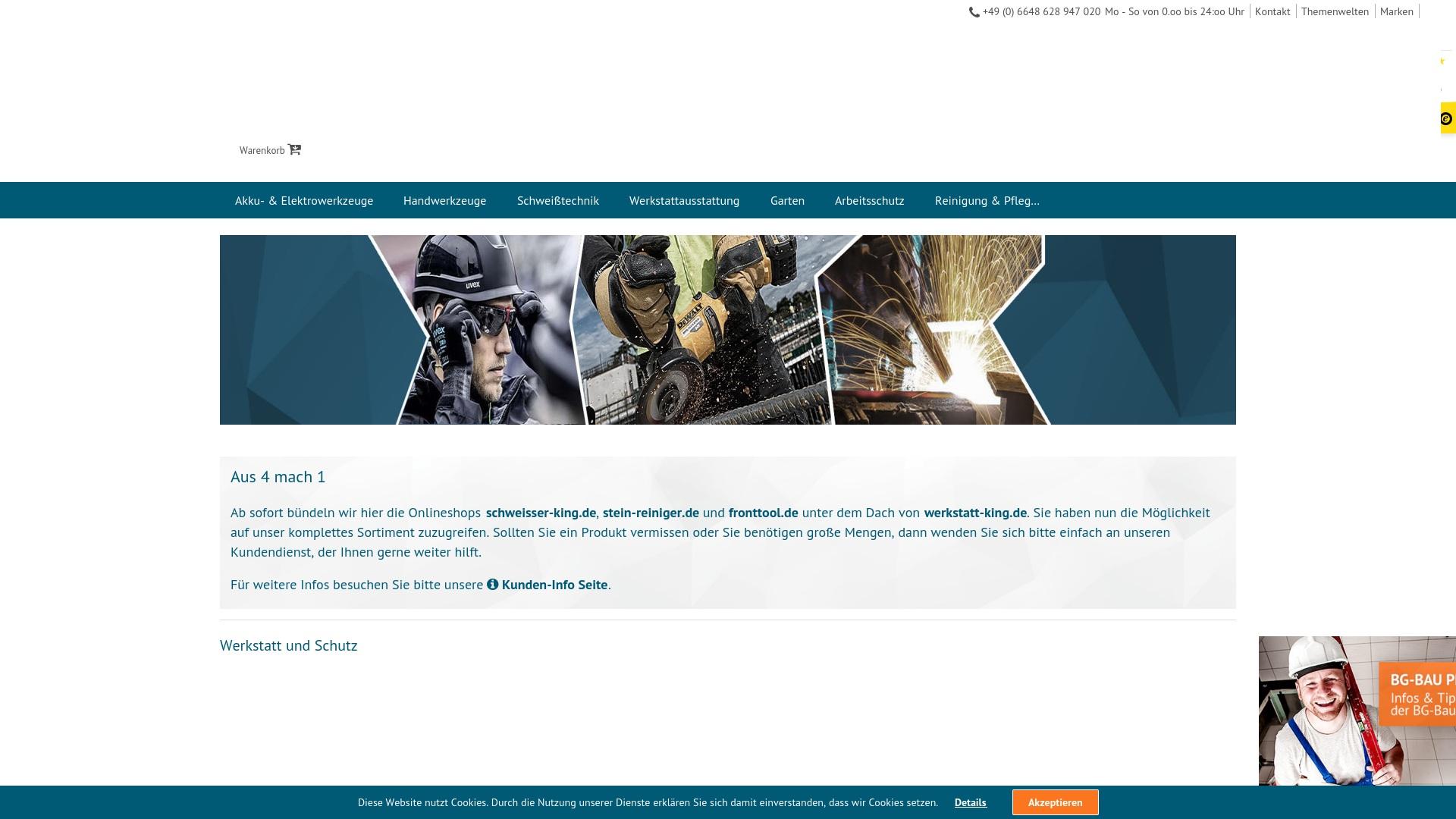 Gutschein für Fronttool: Rabatte für  Fronttool sichern