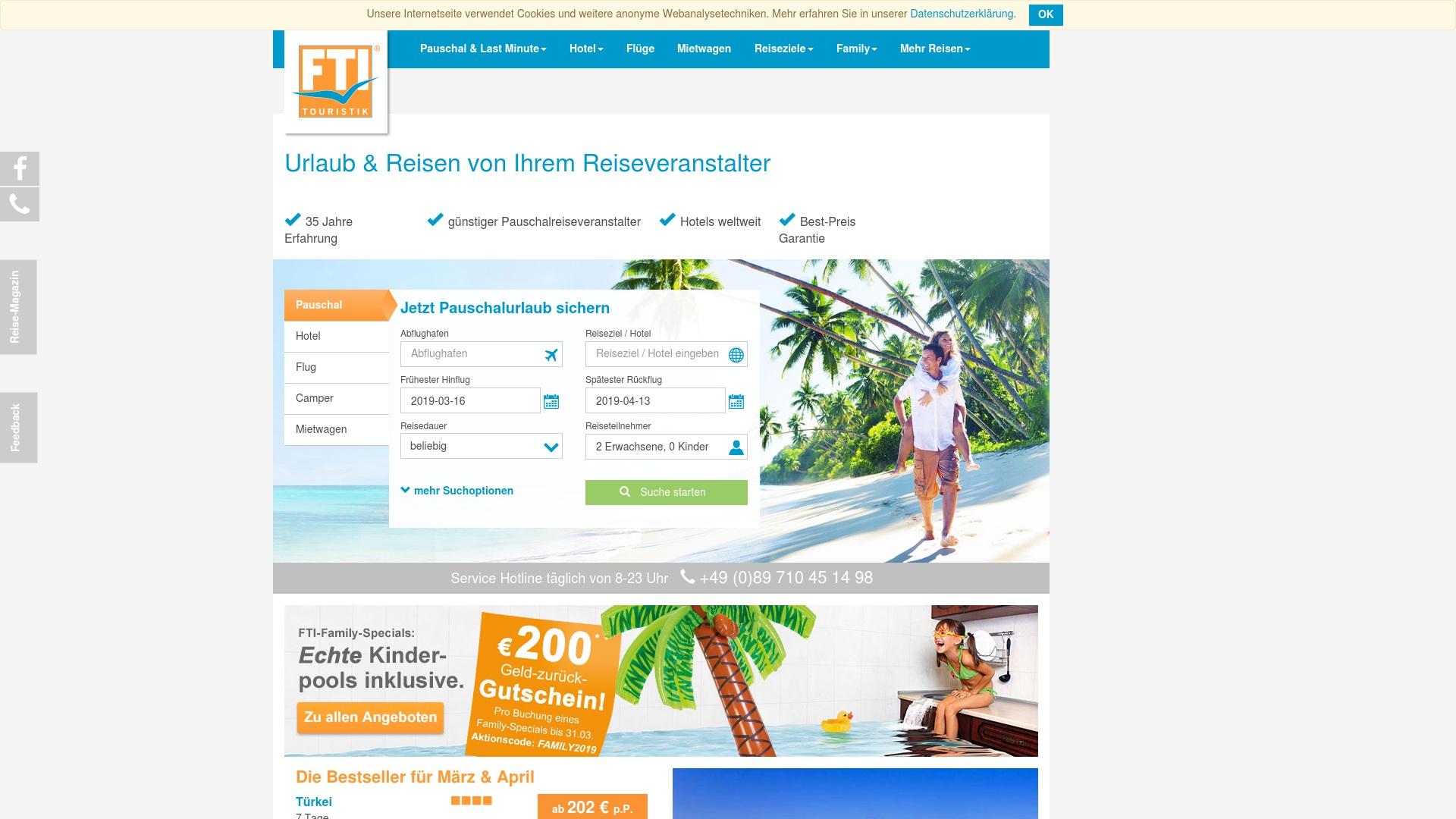 Gutschein für Fti: Rabatte für  Fti sichern