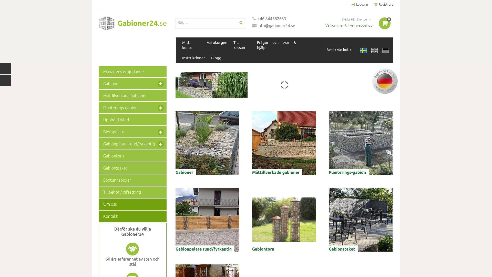 Gutschein für Gabioner24: Rabatte für Gabioner24 sichern