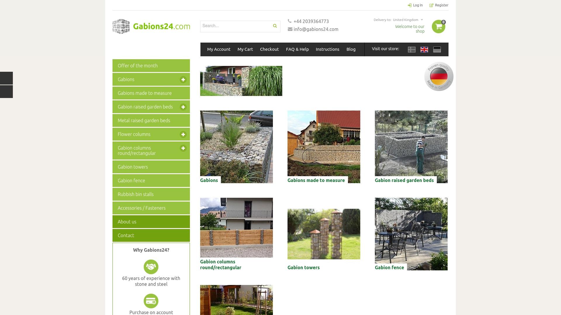 Gutschein für Gabions24: Rabatte für  Gabions24 sichern