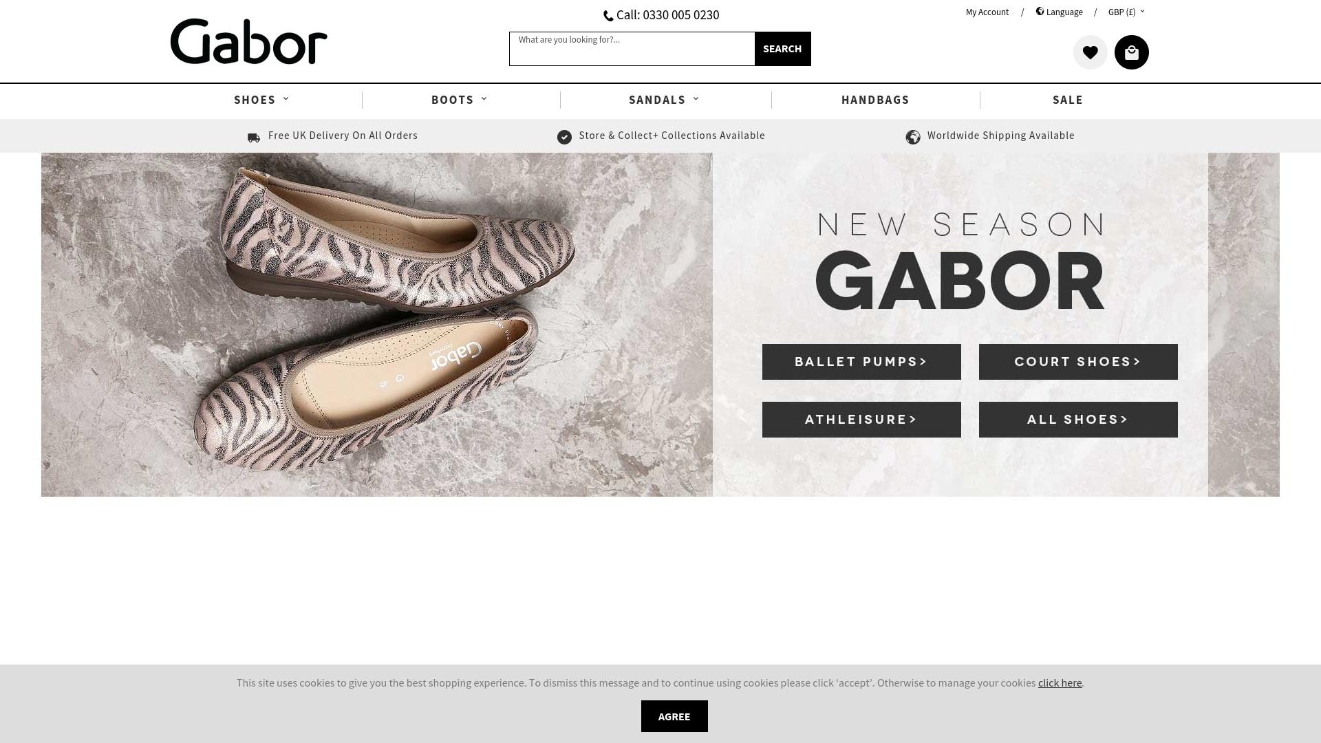 Gutschein für Gaborshoes: Rabatte für  Gaborshoes sichern