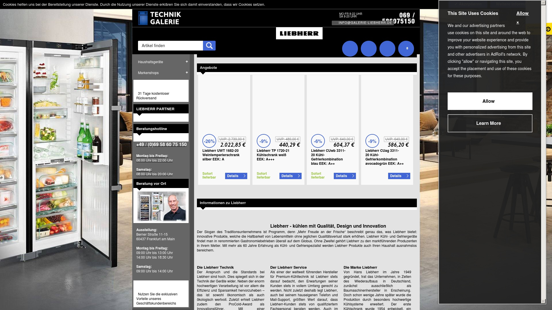 Gutschein für Galerie-liebherr: Rabatte für  Galerie-liebherr sichern
