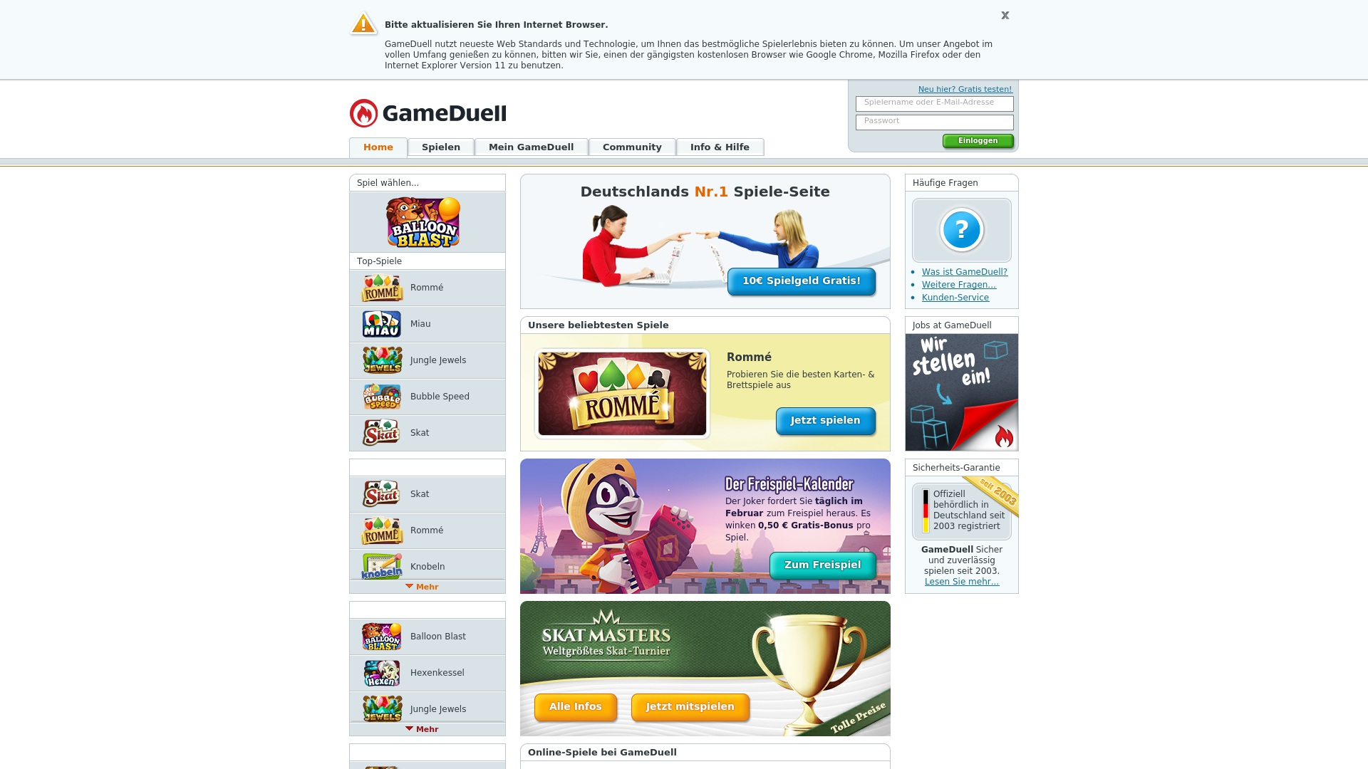 Gutschein für Gameduell: Rabatte für  Gameduell sichern