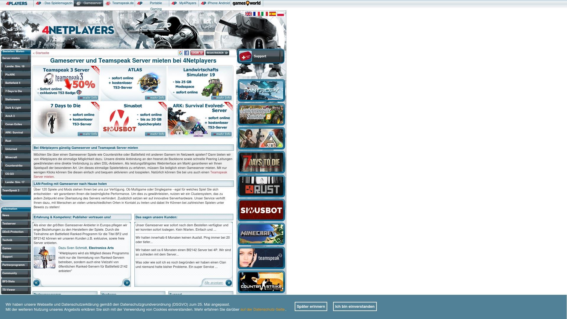 Gutschein für Gameserver: Rabatte für  Gameserver sichern
