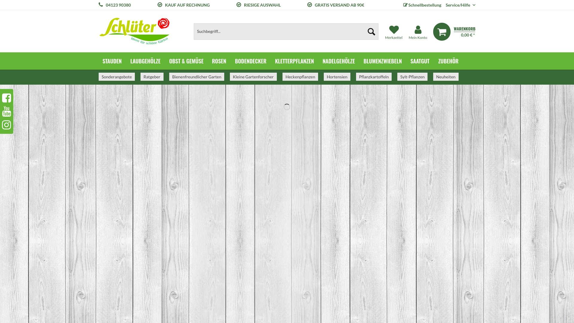 Gutschein für Garten-schlueter: Rabatte für  Garten-schlueter sichern