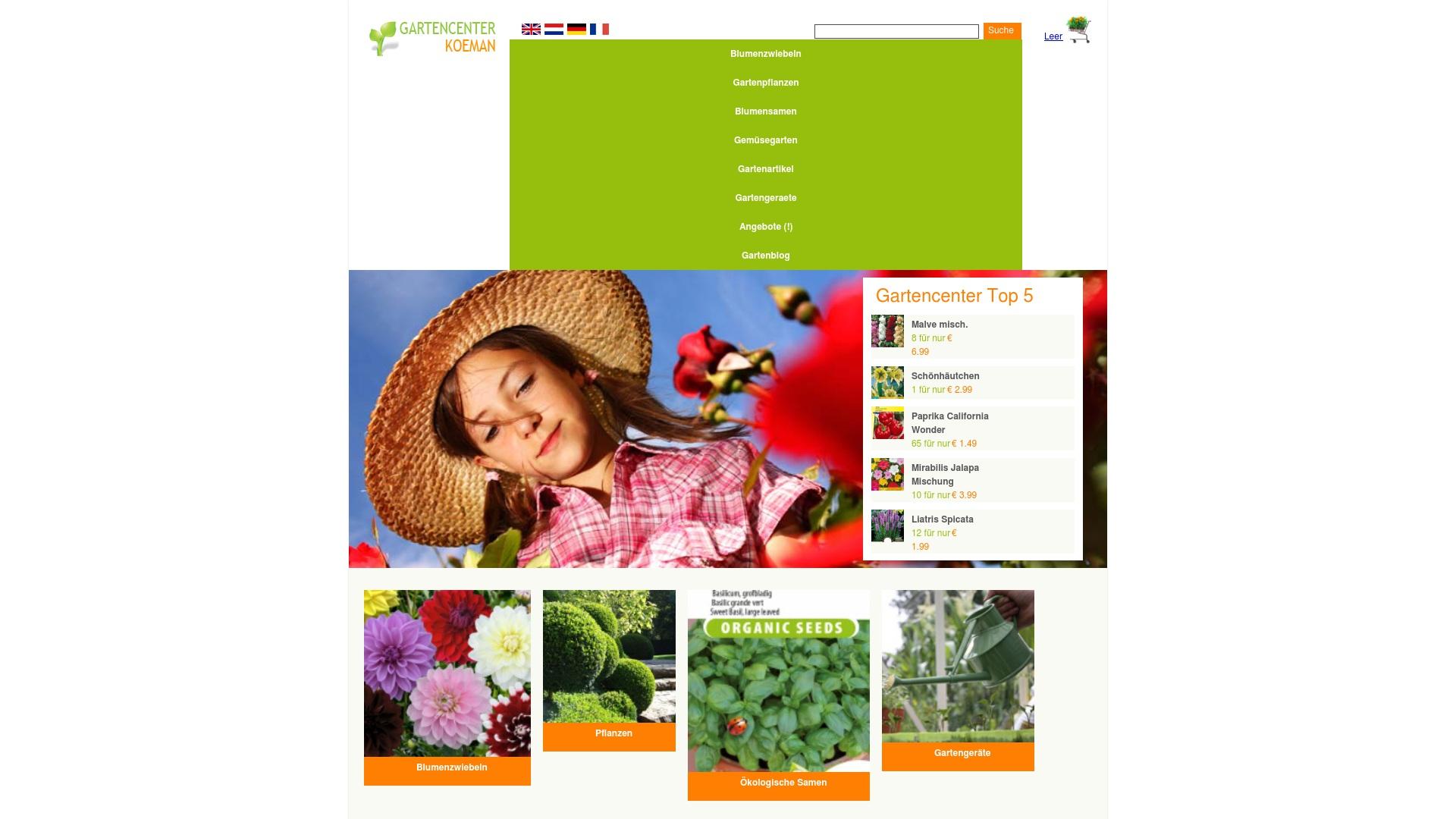 Gutschein für Gartencenterkoeman: Rabatte für  Gartencenterkoeman sichern