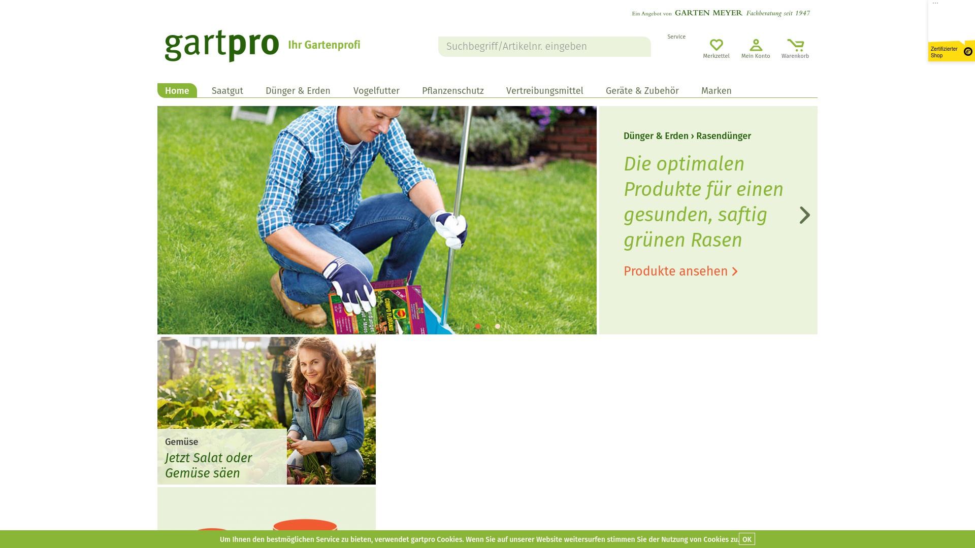 Gutschein für Gartpro: Rabatte für  Gartpro sichern