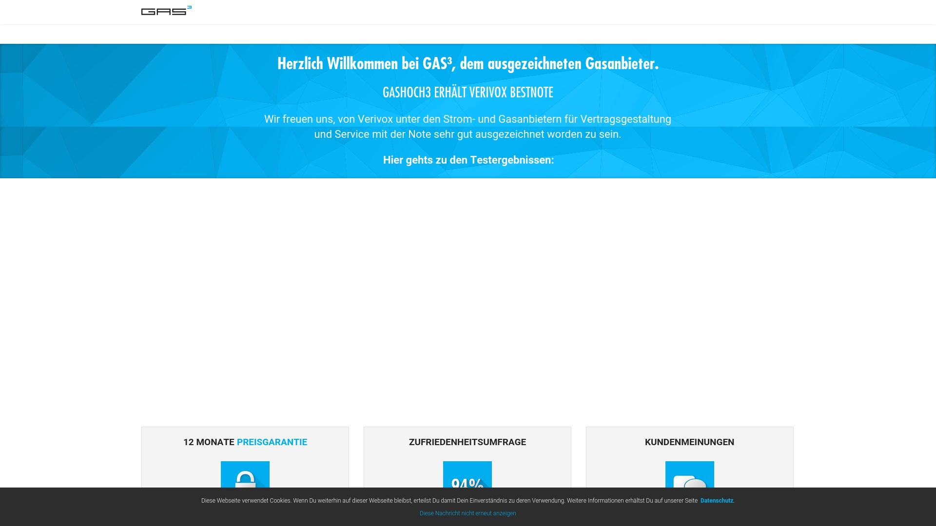 Gutschein für Gashoch3: Rabatte für  Gashoch3 sichern
