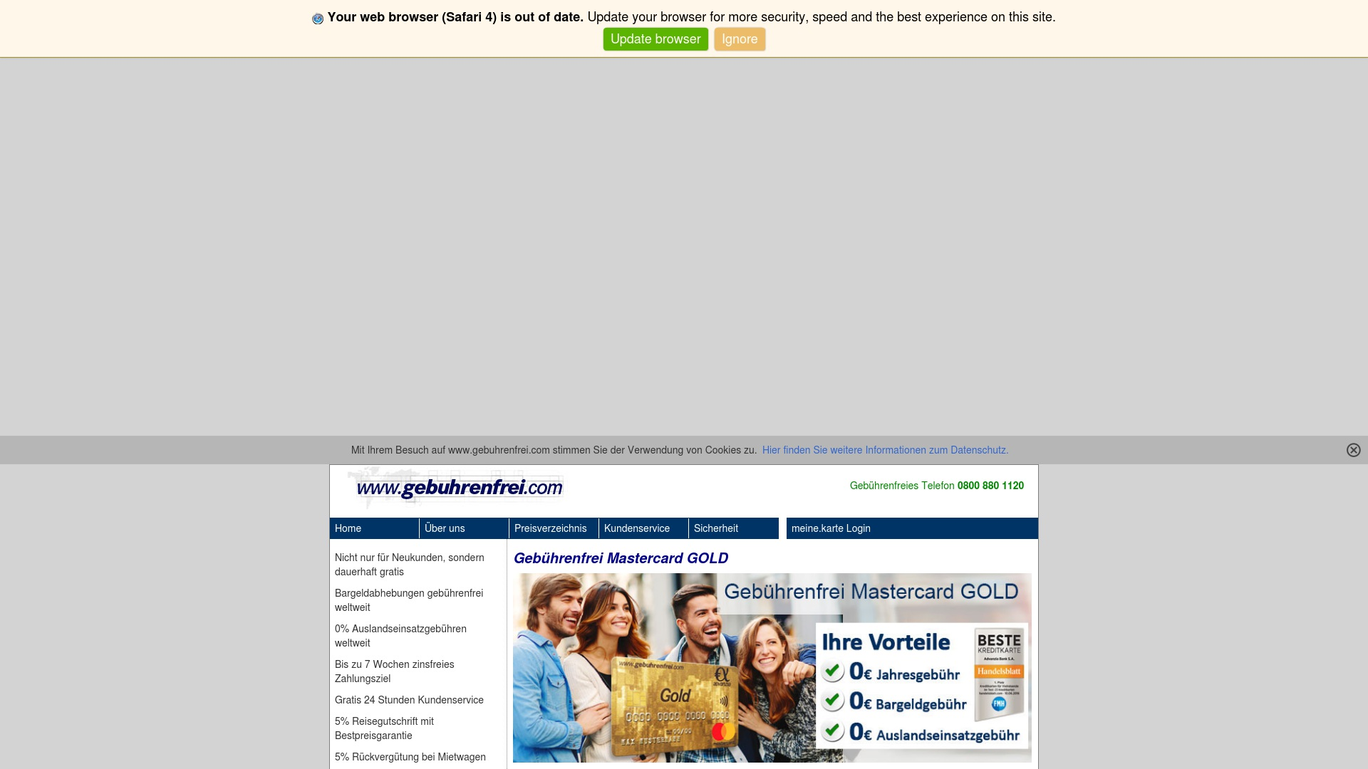 Gutschein für Gebuhrenfrei: Rabatte für  Gebuhrenfrei sichern