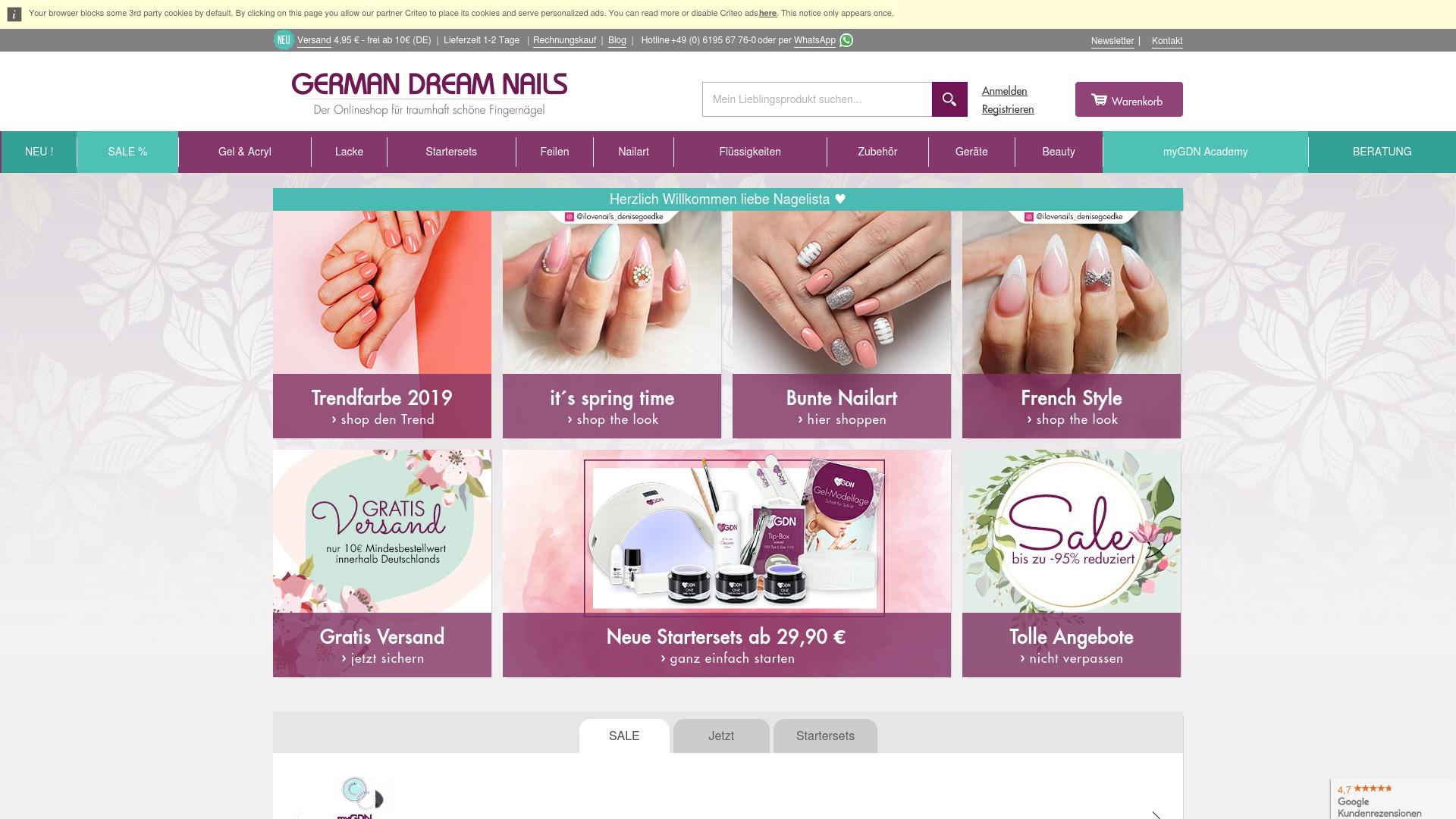 Gutschein für German-dream-nails: Rabatte für  German-dream-nails sichern