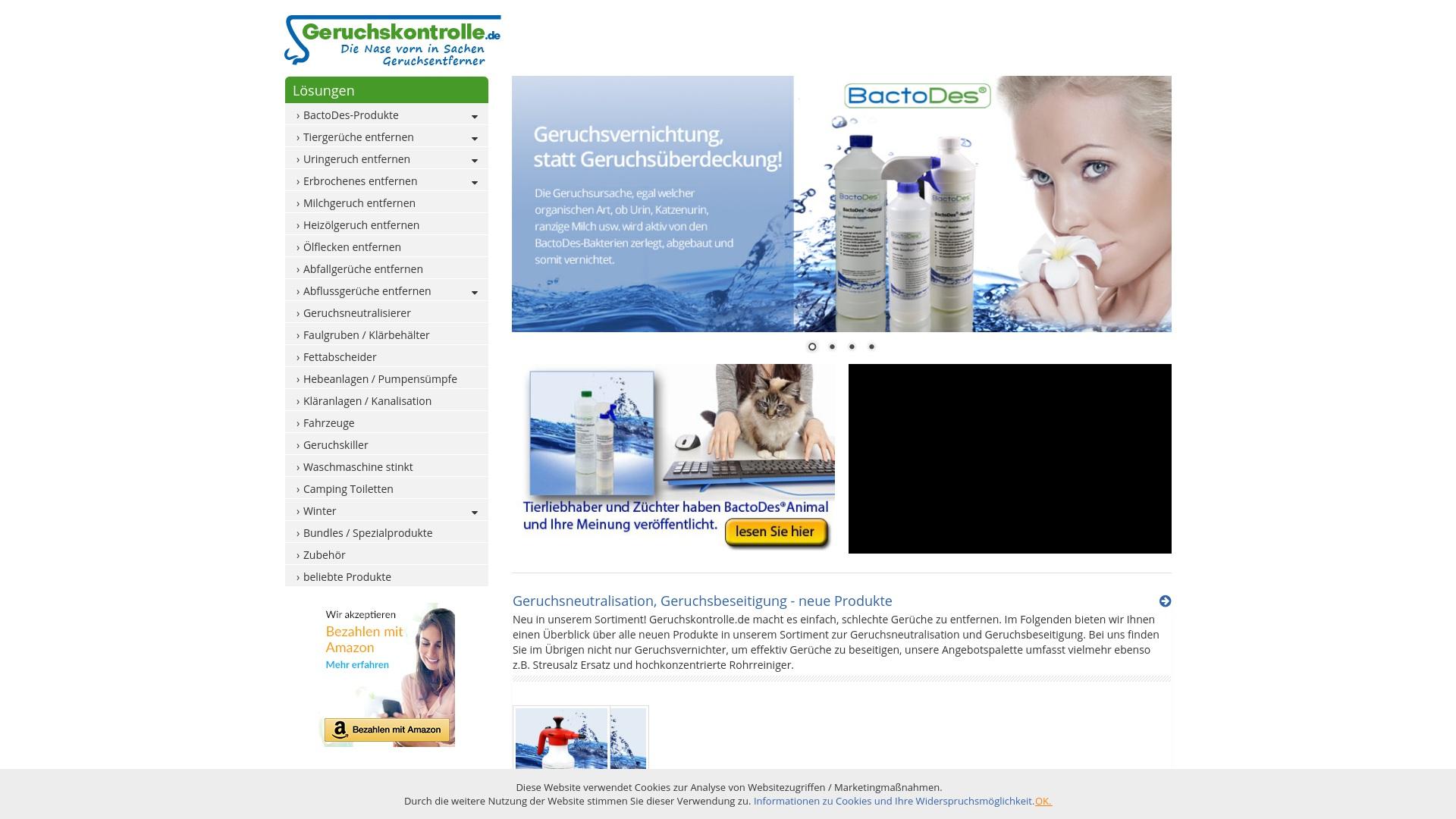 Gutschein für Geruchskontrolle: Rabatte für  Geruchskontrolle sichern