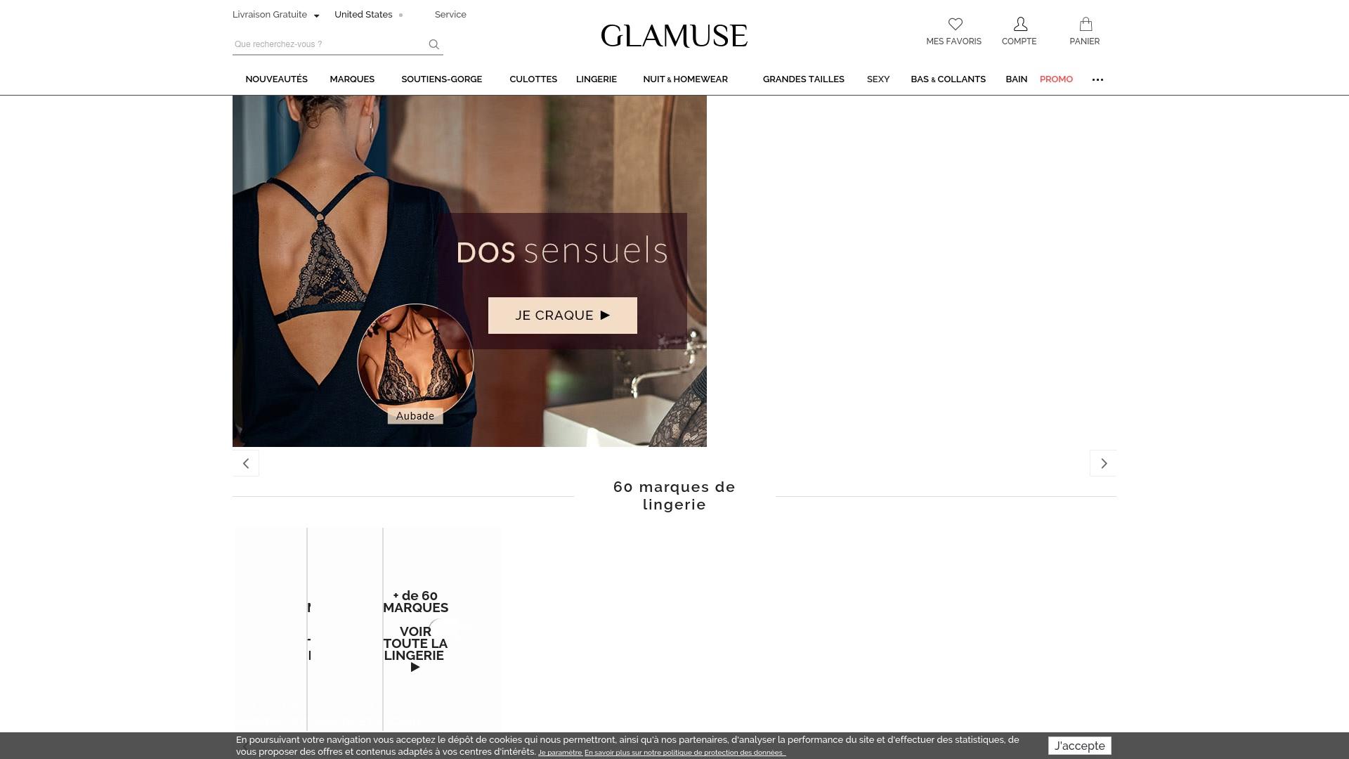 Gutschein für Glamuse: Rabatte für  Glamuse sichern