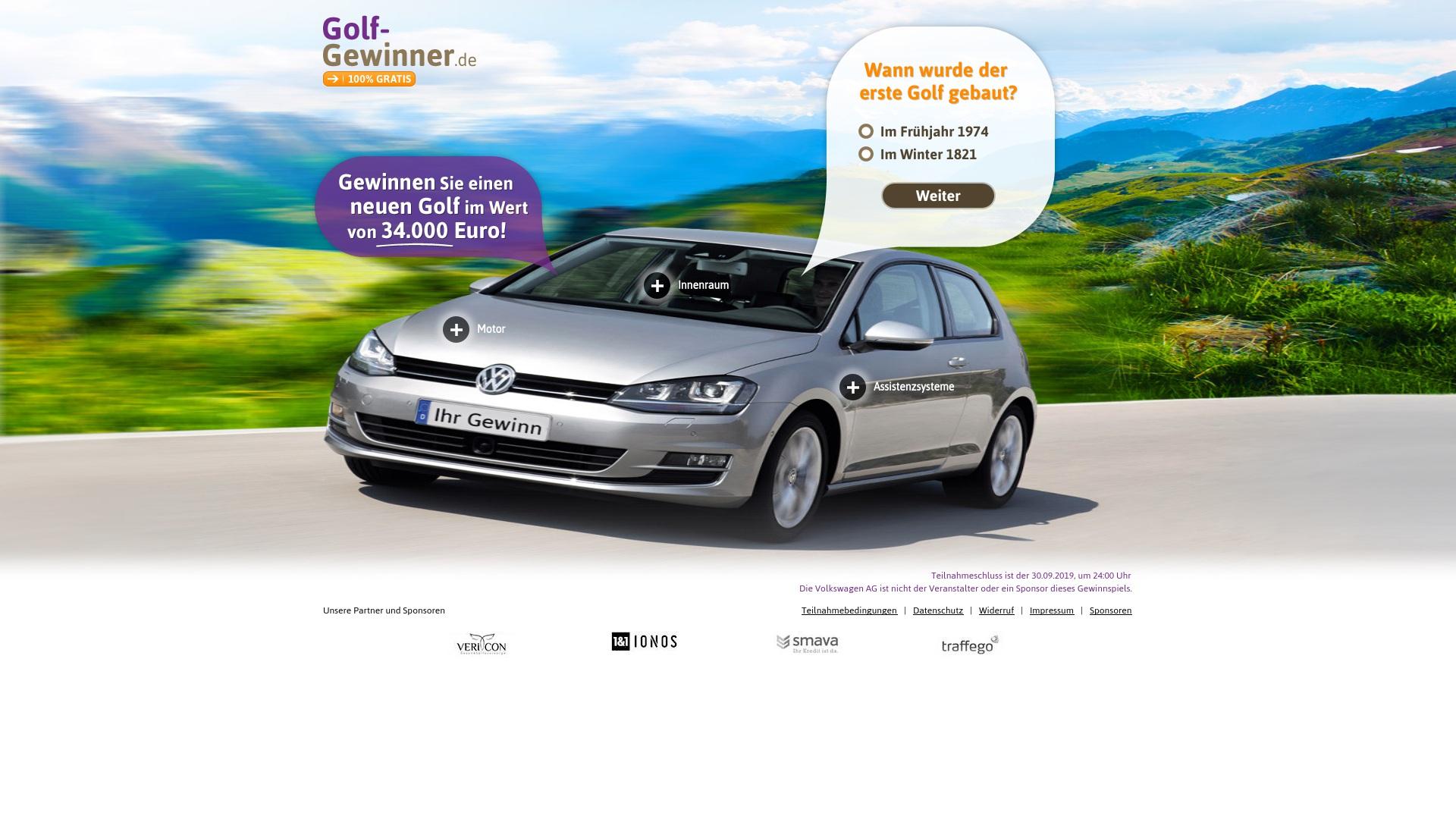 Gutschein für Golf-gewinner: Rabatte für  Golf-gewinner sichern