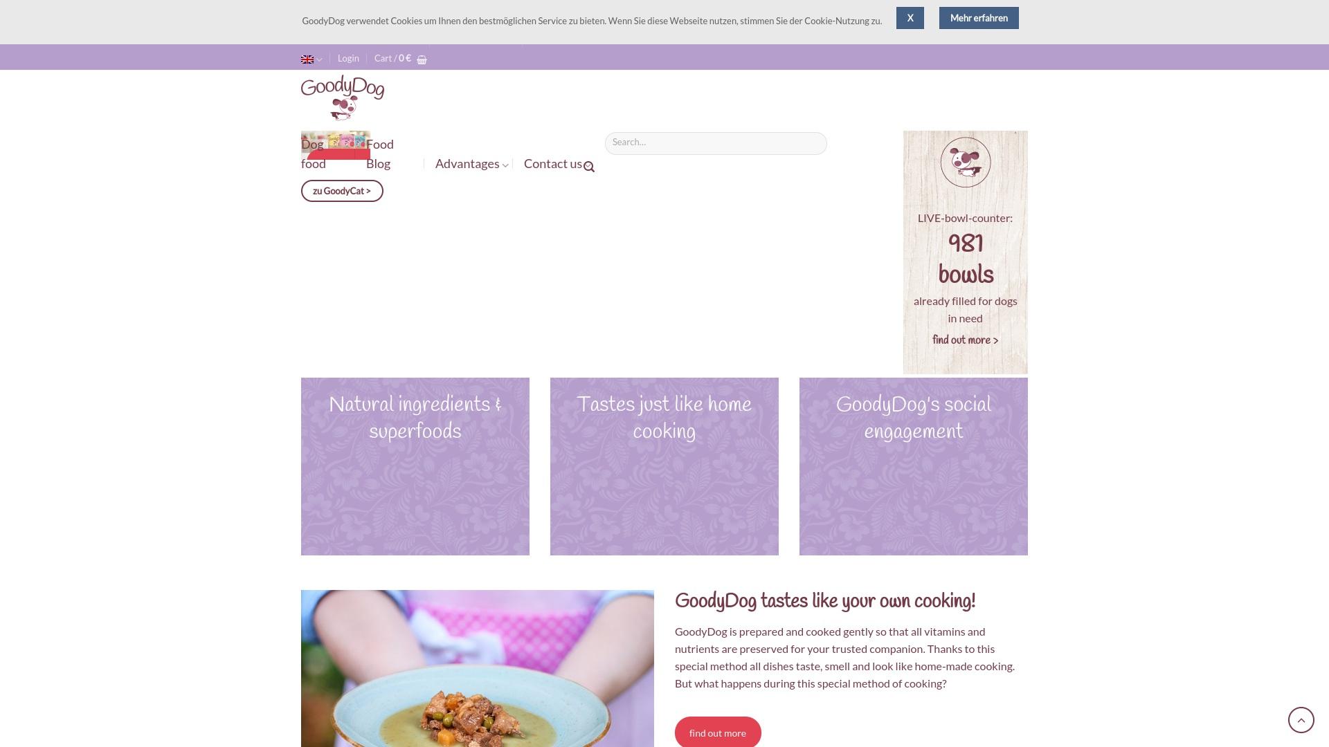 Gutschein für Goodydog: Rabatte für  Goodydog sichern
