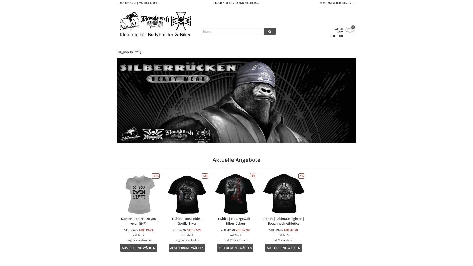 Gutschein für Gorillasportswear: Rabatte für  Gorillasportswear sichern