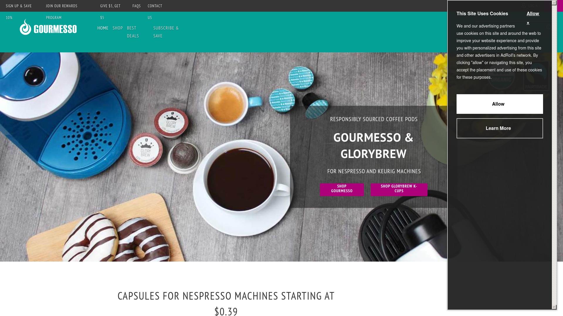 Gutschein für Gourmesso: Rabatte für  Gourmesso sichern
