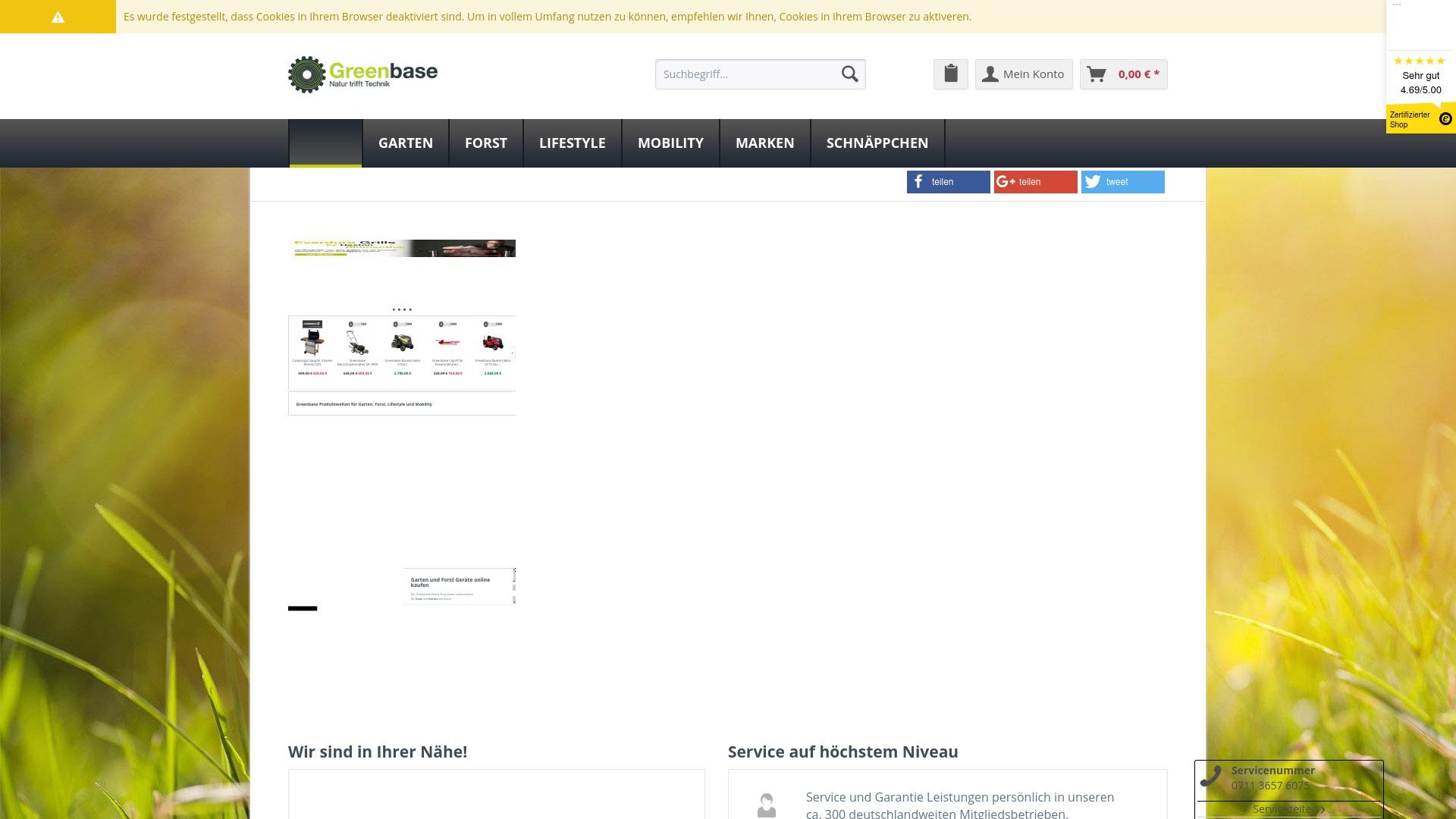 Gutschein für Greenbase-shop: Rabatte für  Greenbase-shop sichern