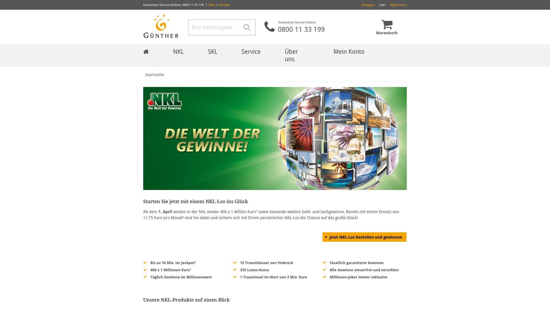 Gutschein für Guenther: Rabatte für  Guenther sichern