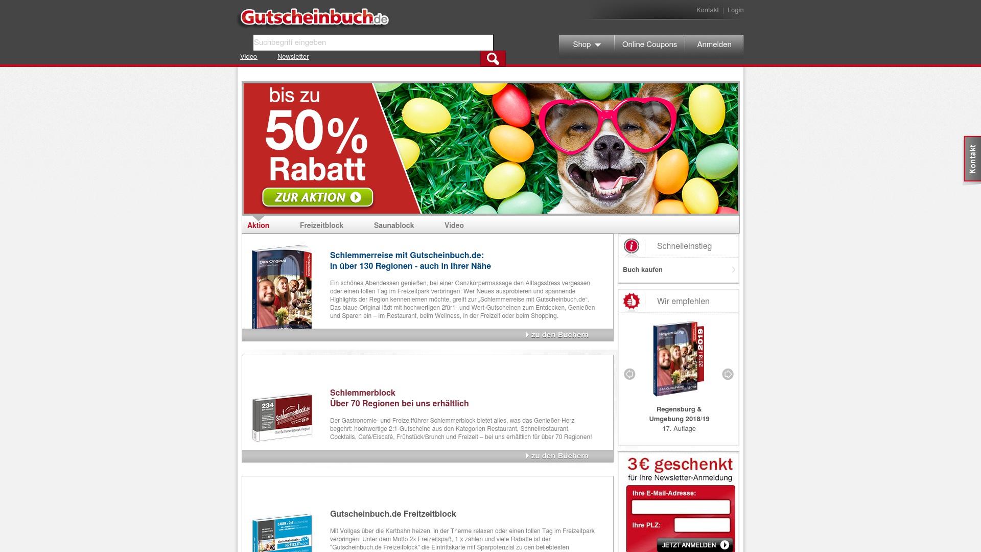 Gutschein für Gutscheinbuch: Rabatte für  Gutscheinbuch sichern