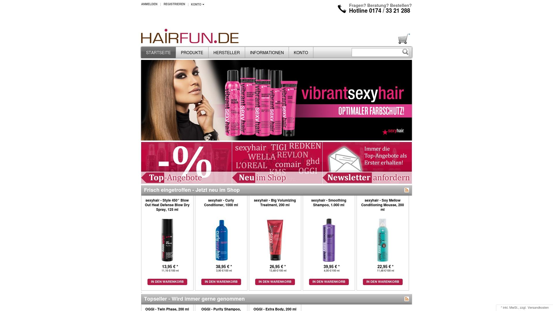 Gutschein für Hairfun: Rabatte für  Hairfun sichern