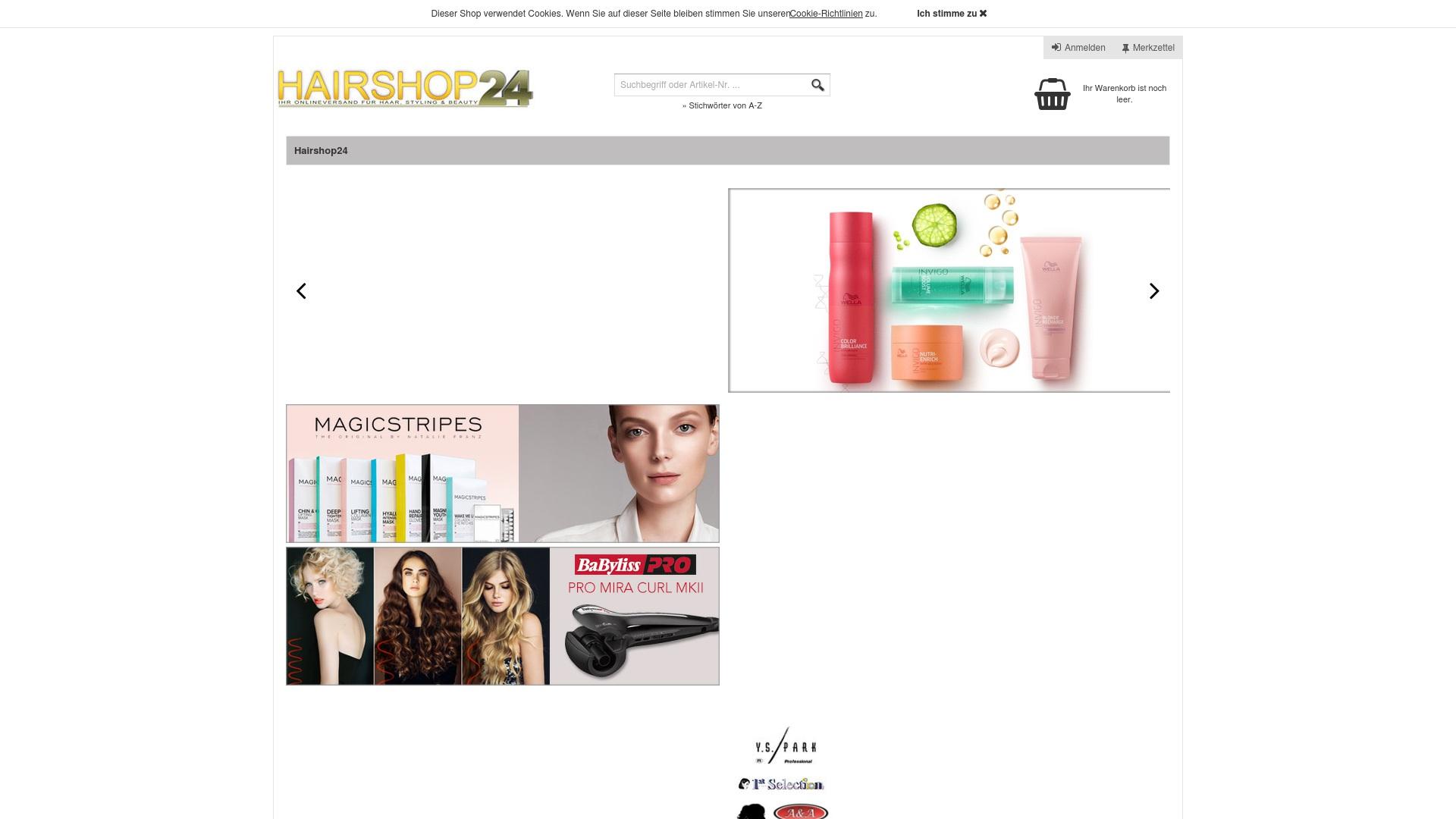 Gutschein für Hairshop24: Rabatte für  Hairshop24 sichern