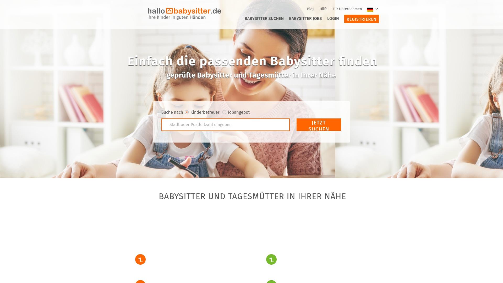 Gutschein für Hallobabysitter: Rabatte für  Hallobabysitter sichern