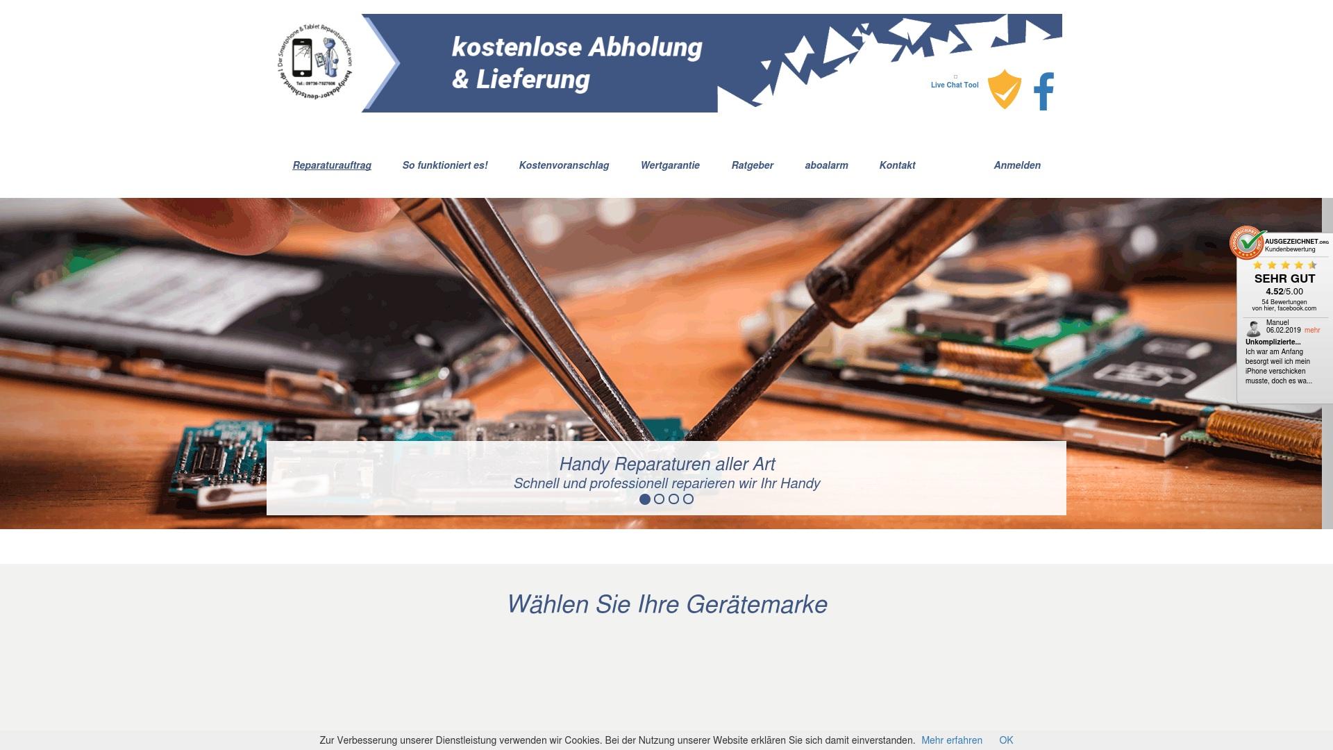 Gutschein für Handydoktor-deutschland: Rabatte für  Handydoktor-deutschland sichern