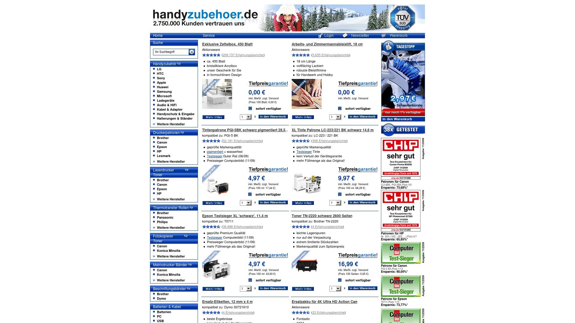 Gutschein für Handyzubehoer: Rabatte für  Handyzubehoer sichern