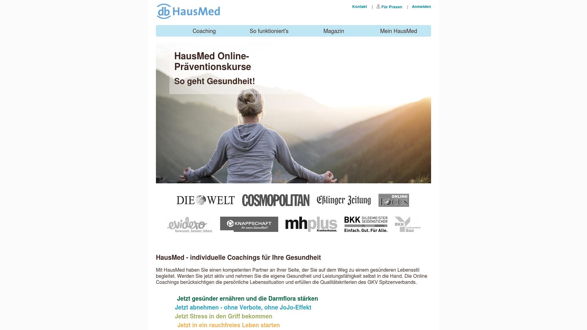 Gutschein für Hausmed: Rabatte für  Hausmed sichern
