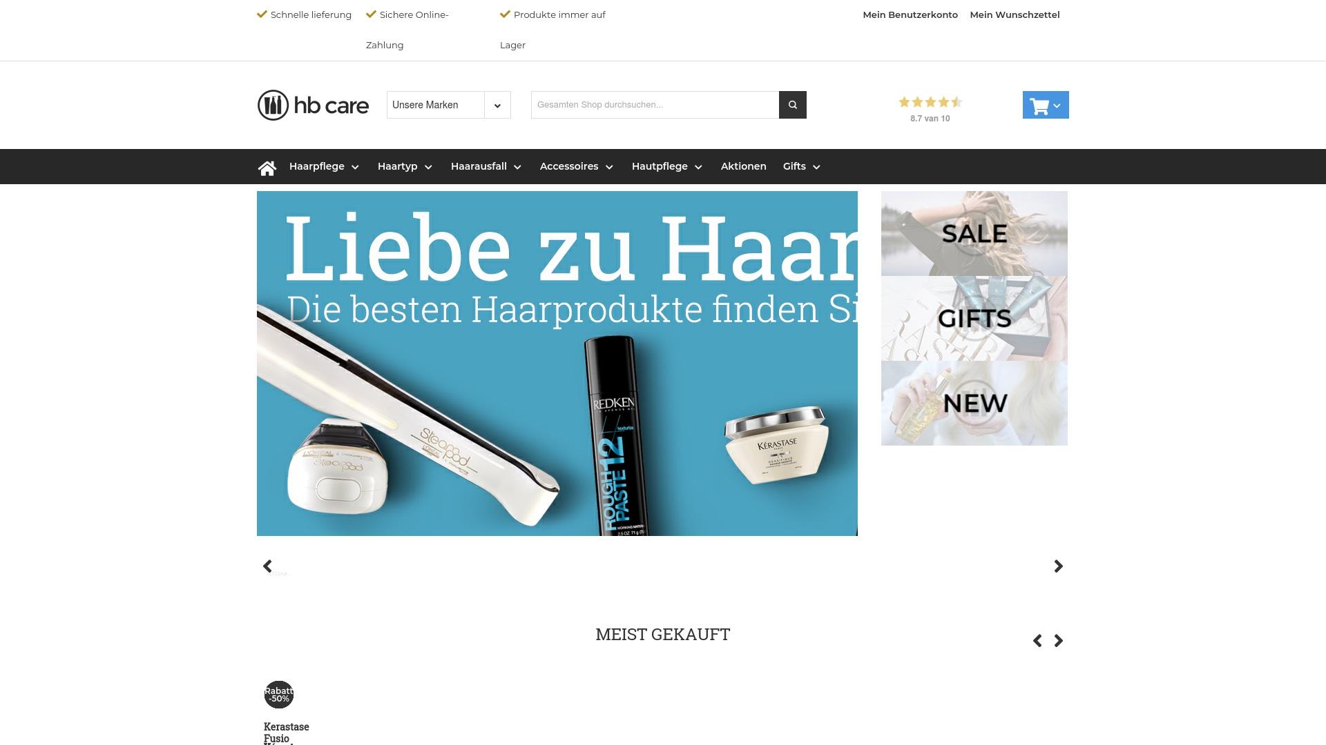 Gutschein für Hbcare: Rabatte für  Hbcare sichern