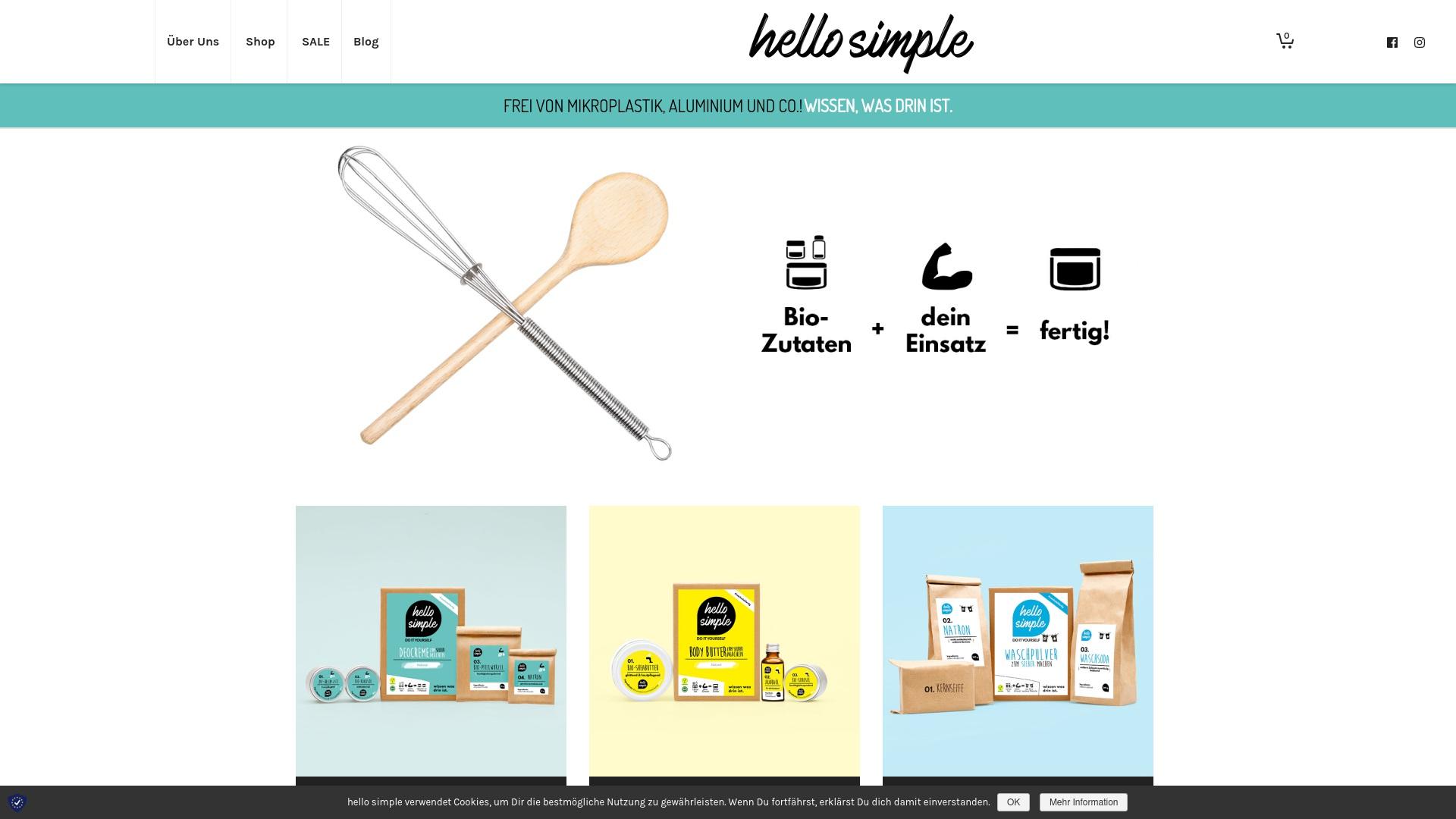 Gutschein für Hellosimple: Rabatte für  Hellosimple sichern