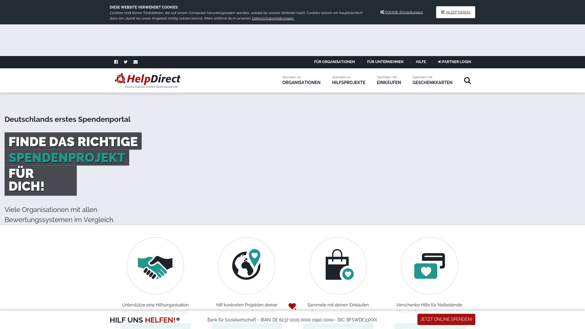 Gutschein für Helpdirect: Rabatte für  Helpdirect sichern